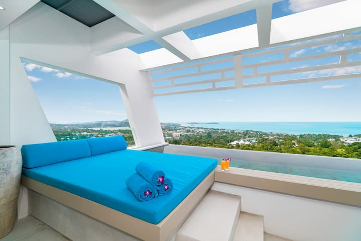 Panorama Sea View Private pool villaBest Location