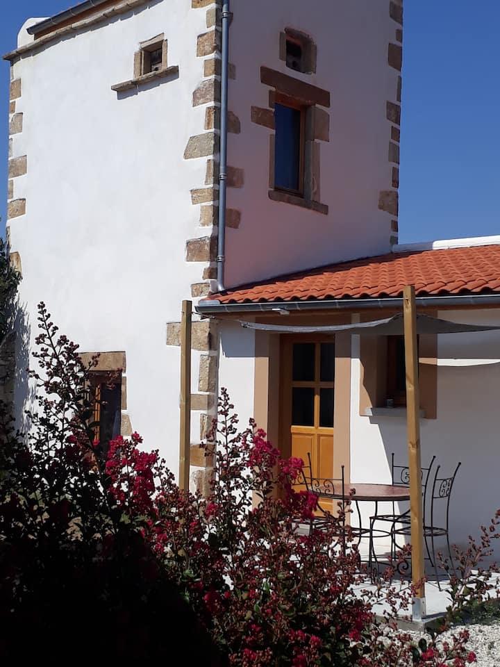 Pigeonnier rénové en charmante petite maison