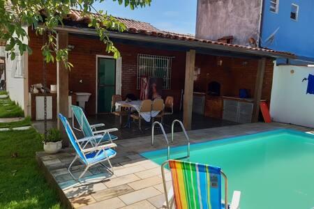 Casa Tenorio - Piscina privada e churrasqueira!!!