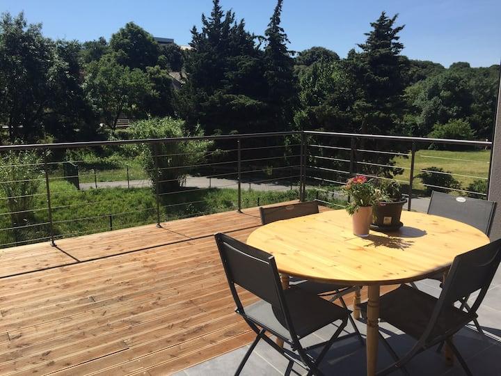Maison neuve en Drôme provençale