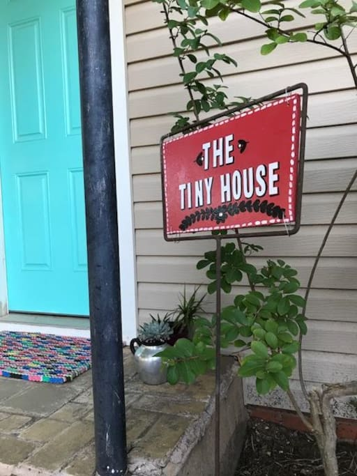 It IS tiny but why pay as much or more for a shared room?  Get your own Tiny House to stay in!