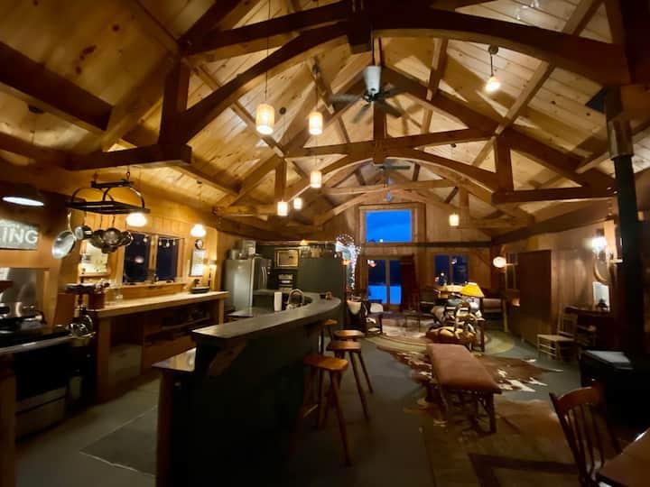 Posh Camp the Quintessential Adirondack Cabin