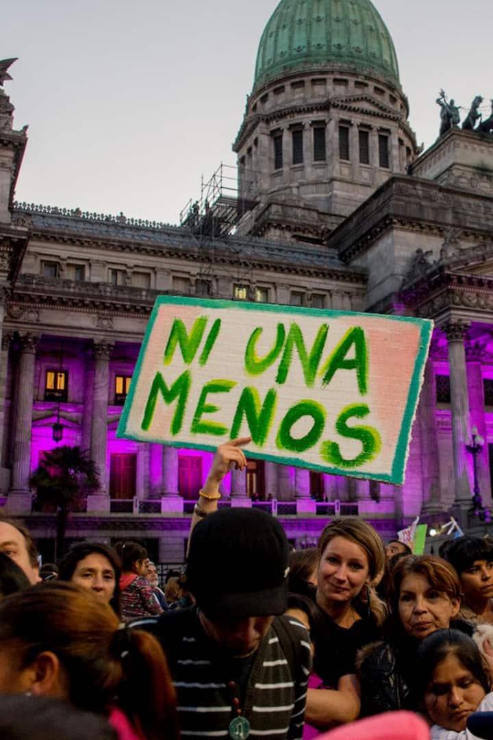 NiUnaMenos contra la violencia de género