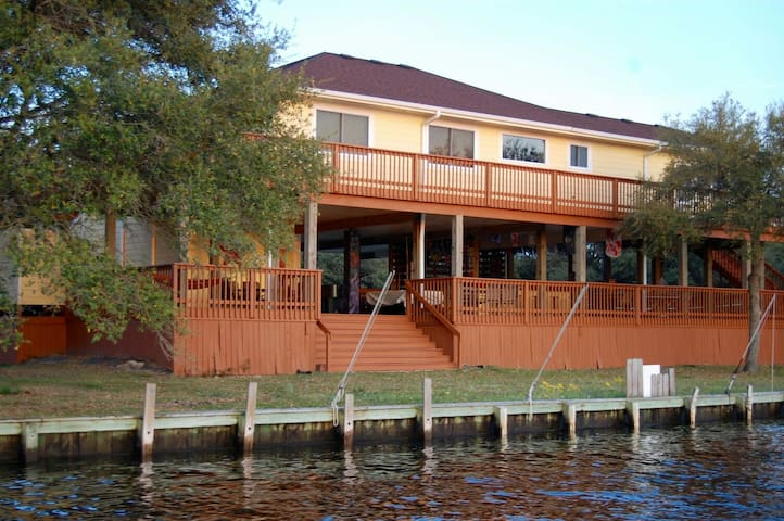 GOOD TIMES beautiful bayfront home - Corolla - Talo