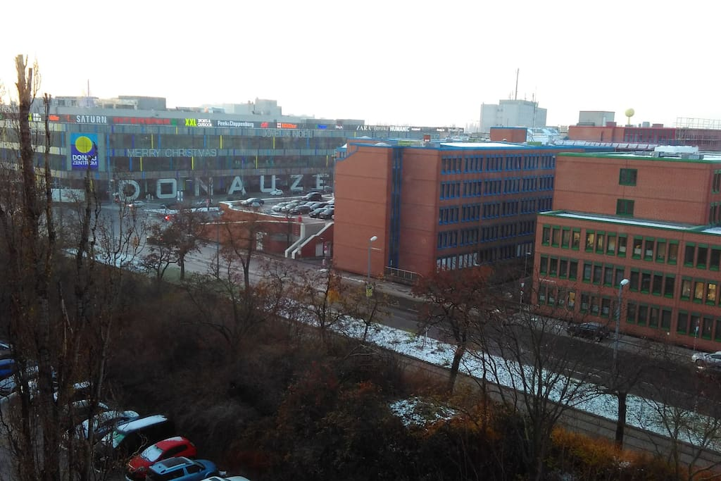 View from window (left)