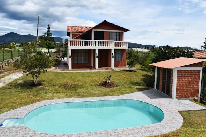 Hermosa y amplia casa finca en Chachagui, Nariño