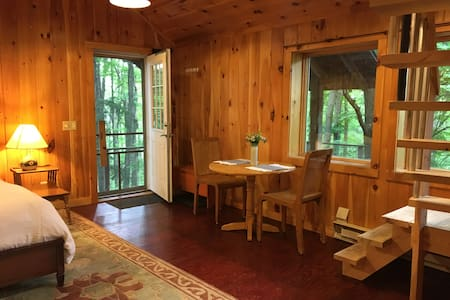 Tree-Lined Studio in the Heart of the Finger Lakes