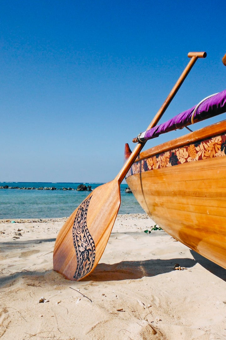 Resting ashore