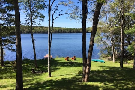 Year round Lake front retreat 1 hour from Halifax