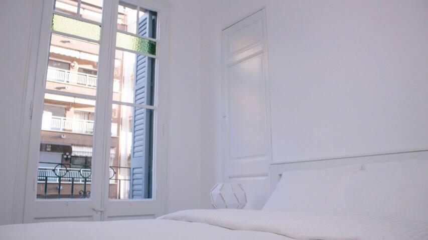 Habitación doble con Balcon en Plaza España
