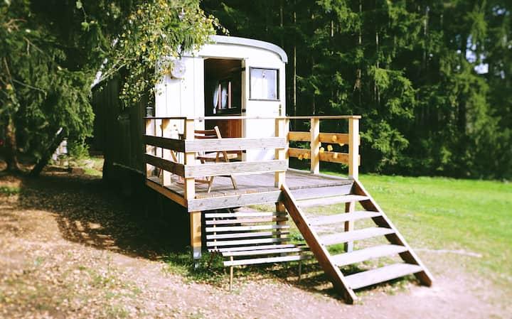 Maringotka v České Kanadě