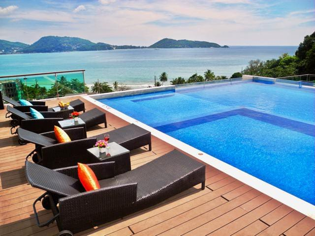 1 bedroom apartment overlooking Patong Bay - Phuket - Leilighet