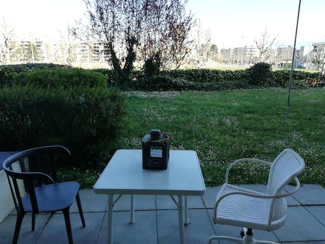 Studio avec jardin à 10 minute de Lausanne