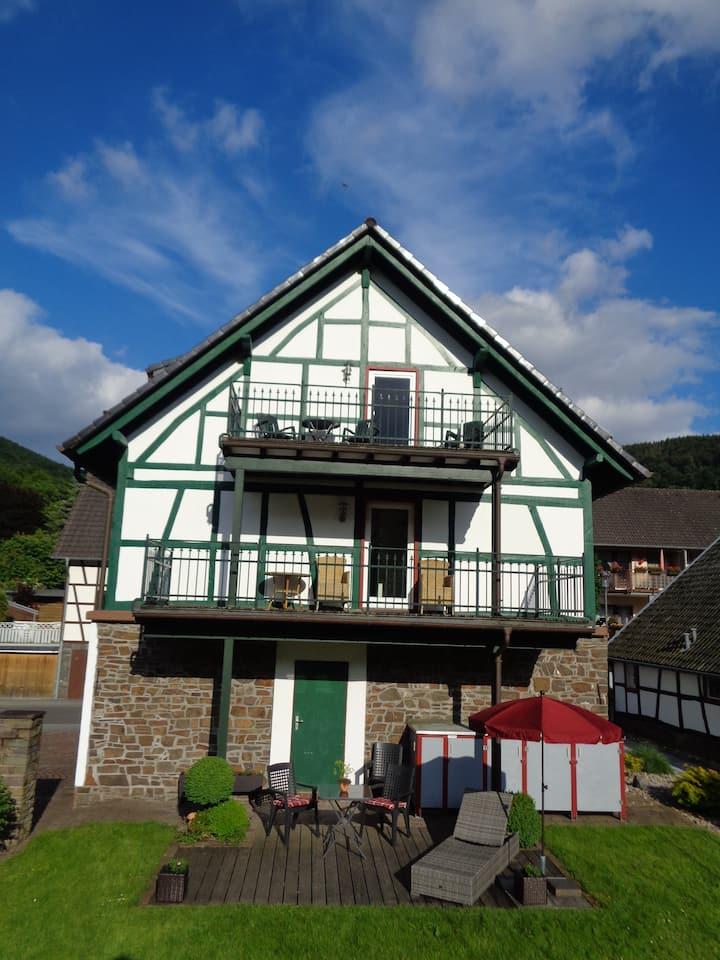 """Rurseeblick""  Einruhr im Nationalpark Eifel"