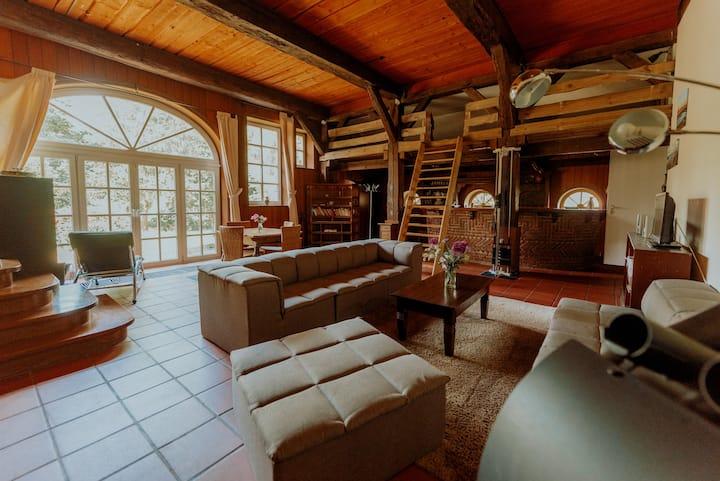 Landhaus Kurzenmoor - FeWo Remise, 110 qm, SAUNA