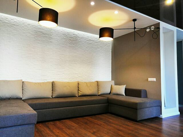 Apartment on Pobeditelei ave, Minsk-Arena