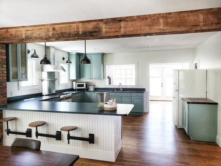 Stunning remodel walking to Lake Champlain