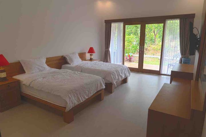 Villa pulu uluwatu twin bed room no.5