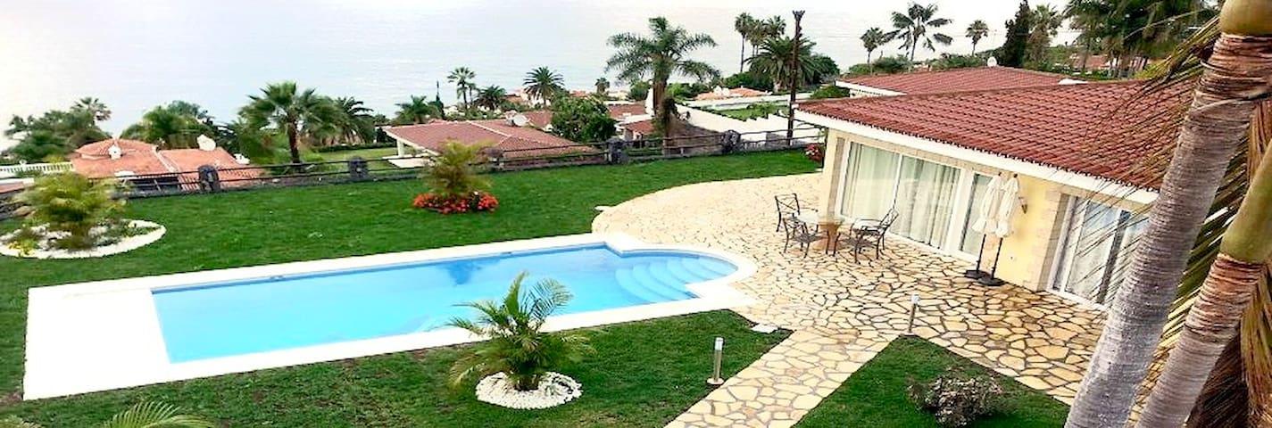 Villa mit einem traumhaften Blick aufs Meer - Santa Úrsula