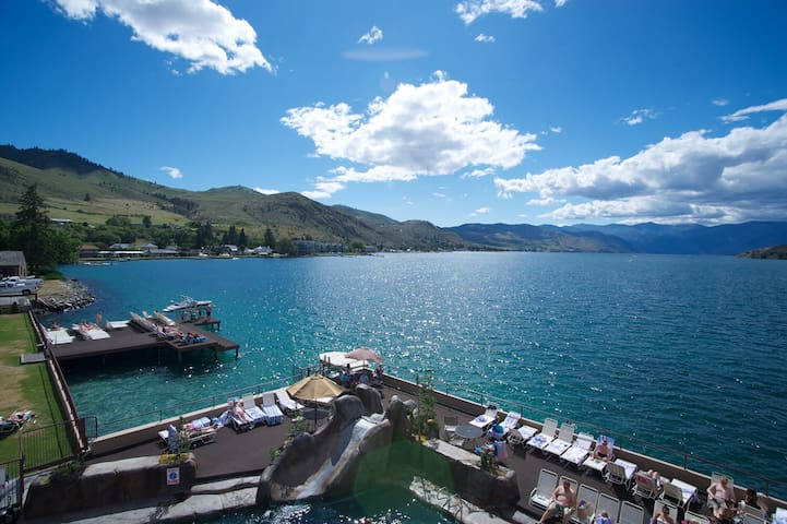 Grandview Lakefront - Sleeps 6 - Chelan - Appartement en résidence