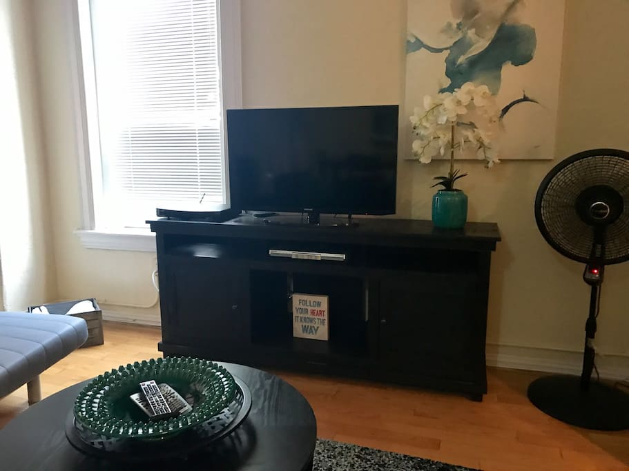 "42"" Tv, Apple TV, & Dish TV"