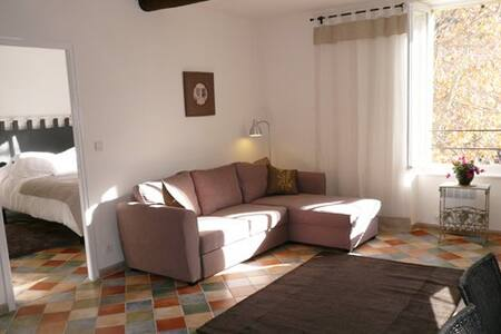 Stylish apartment on square for walking and wine - Saint-Chinian - Apartmen