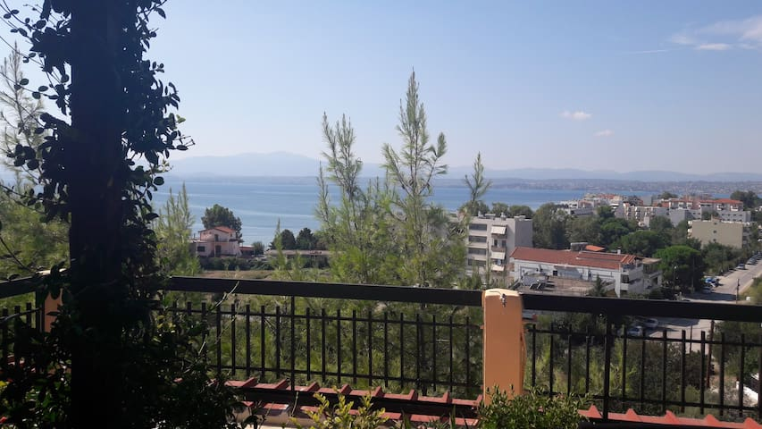 Apartment with great view in Lefkadi