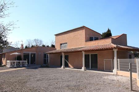 Villa 8P Piscine privée chauffée prox Argeles /mer - Villelongue-Dels-Monts - 別荘