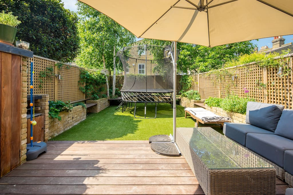 My property has everything you need; a spacious private garden...