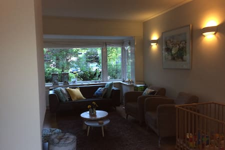 Huis met 4 slaapkamers en zonnige tuin - Leusden