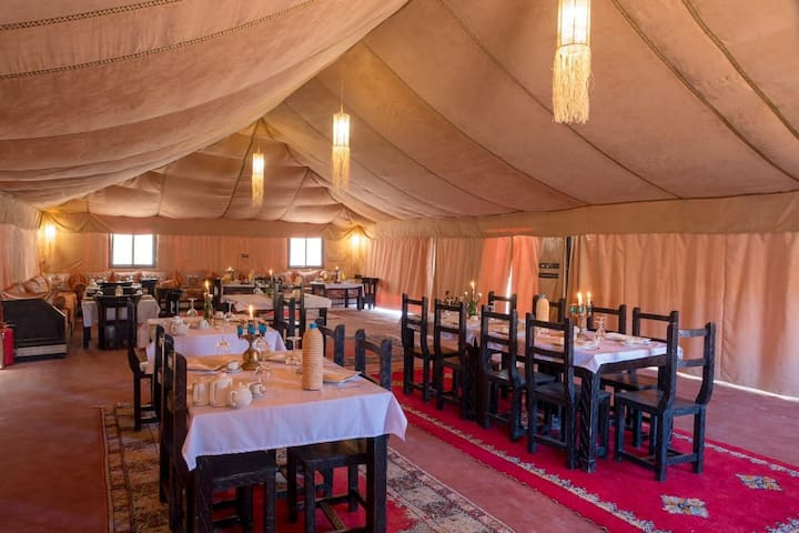 Desert Luxury camp and camel treks experience