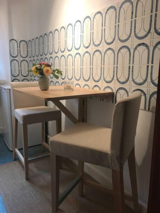 Sitzplatz in der Küche für 2 Personen