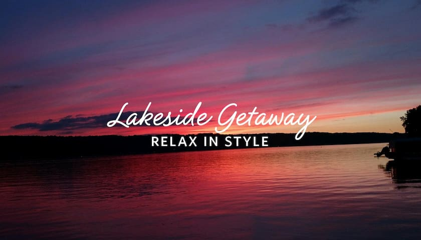 Relaxing Getaway on Conesus Lake - Conesus - Hus