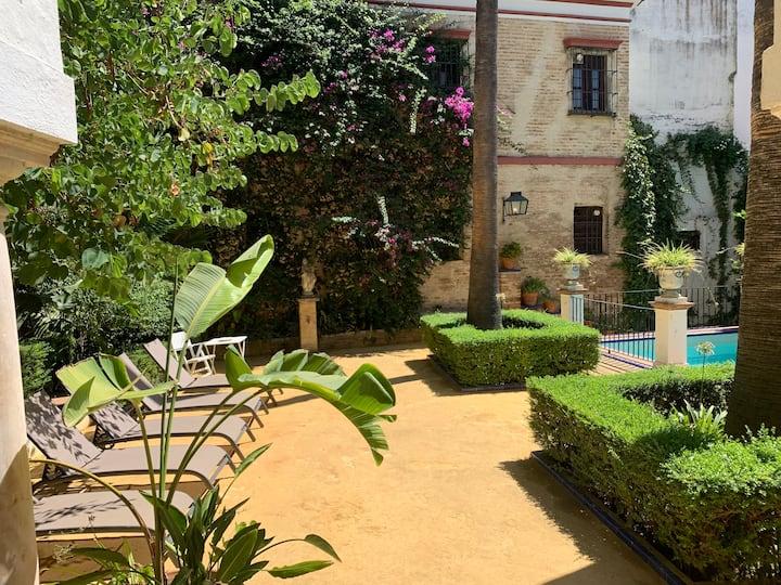 Villa Elvira, Casa con Jardin y piscina, Catedral