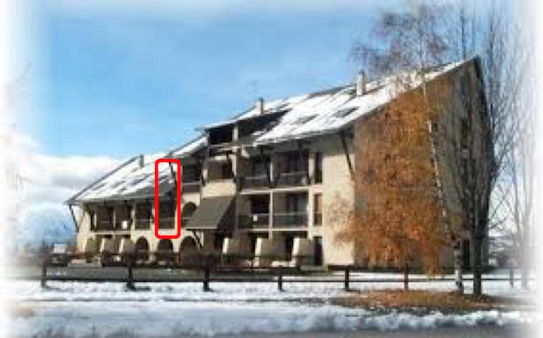Appt Duplex 2 chbres plein sud front de neige