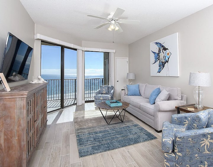 14th floor oceanfront Condo