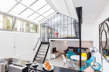 Atelier de Artista renovado Le Marais centro Paris