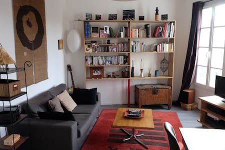 Cosy and quiet 3 rooms duplex in the very centre - Fontainebleau - Wohnung