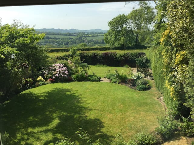 Comfortable double room with beautiful views