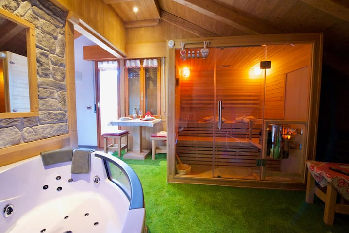 New Romantic Penthouse SPA - Venas di Cadore - Huoneisto