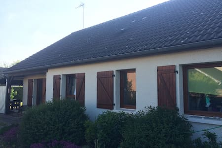 maison en lotissement avec grand jardin/terrasse - Warmeriville - House
