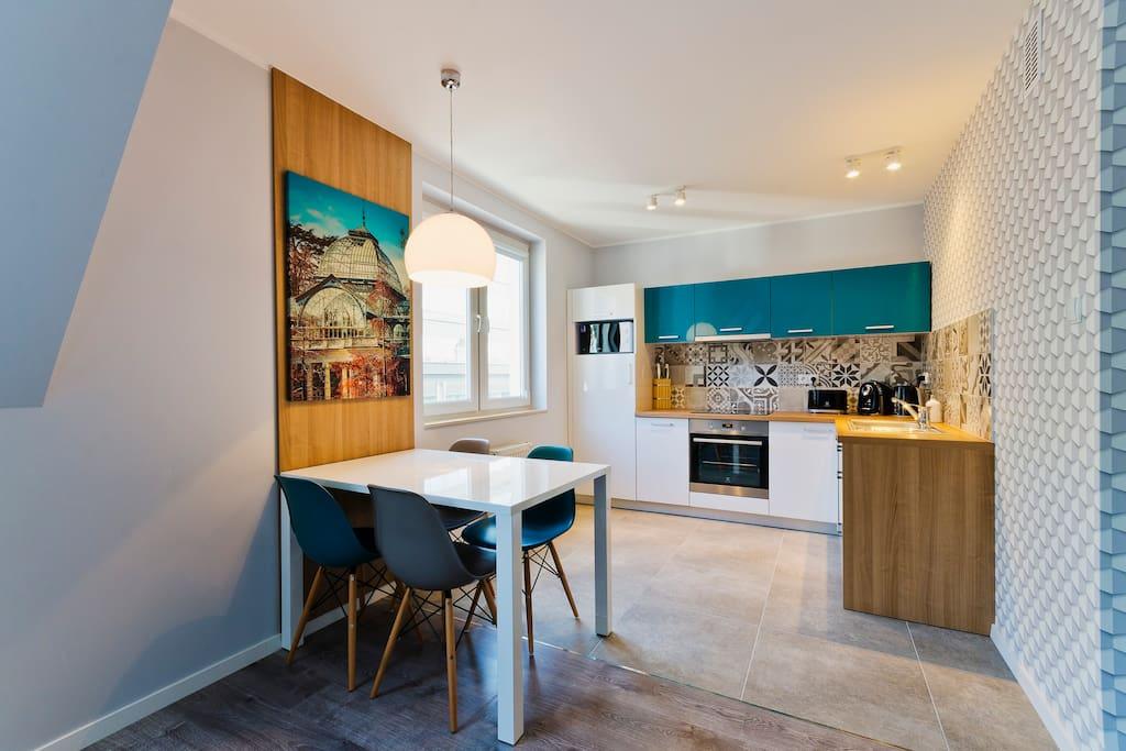 Dinning Area/ Kitchen