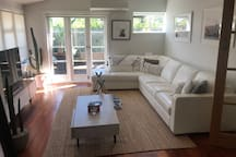 Sunny, spacious and private 2 bedroom home