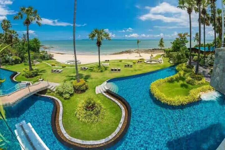A1 芭提雅私人沙滩海景房
