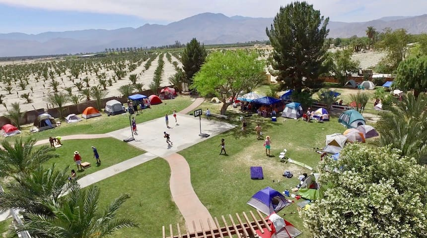 Camping Spot #12 for COACHELLA and STAGECOACH