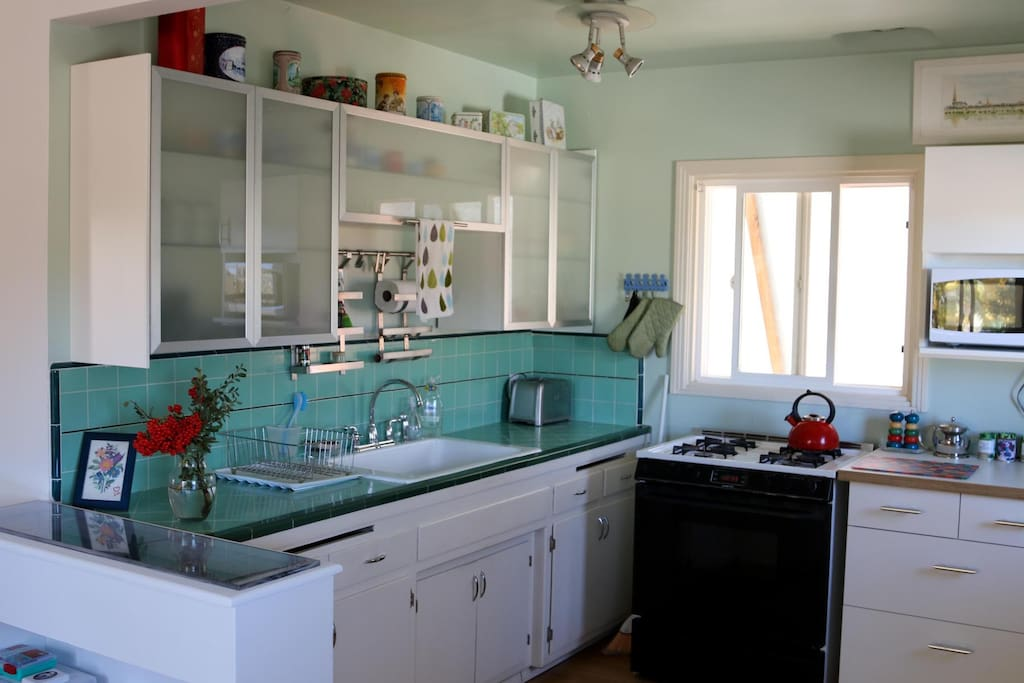 Sweet Kitchen full of character and fully loaded.