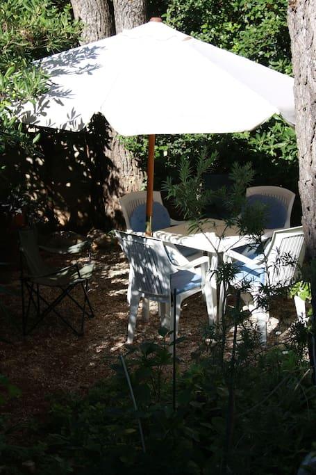 Garden and garden furniture