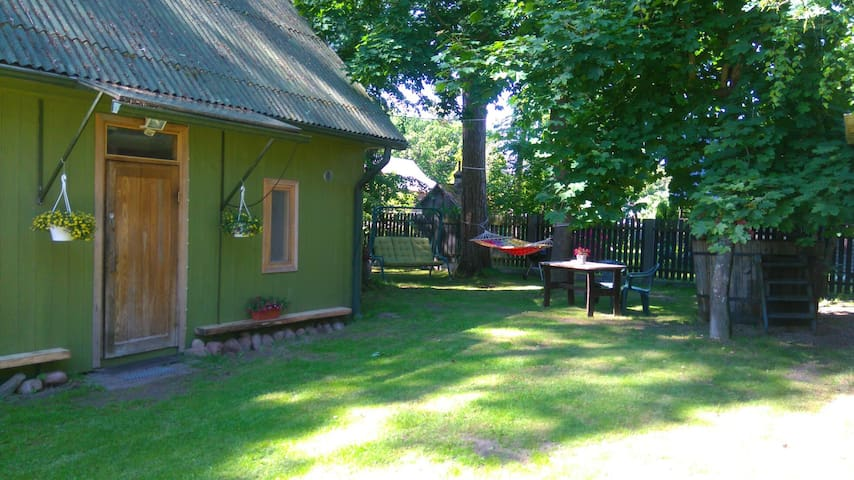 Lovely cottage with a garden in peaceful place