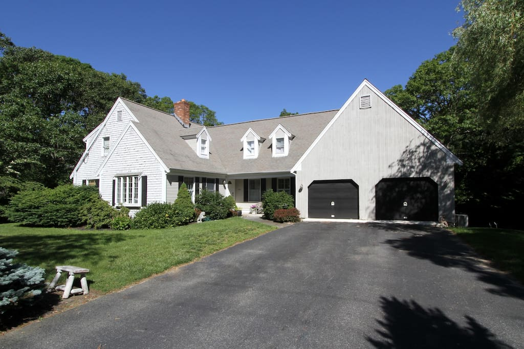 This classic Cape Cod home is spacious and charming