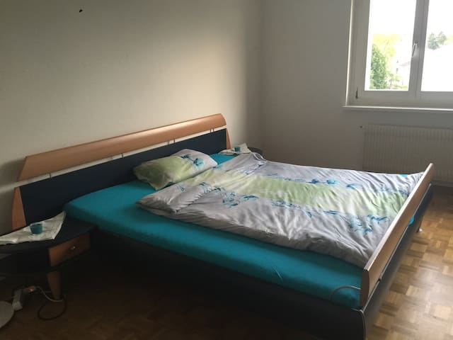 2Pers. *Bedroom* 15'to mainstation - Urdorf - Daire